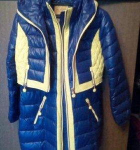 Куртка- жилетка- пальто 3 в одном