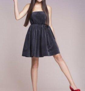 Бархатное платье 42-44 Lakbi