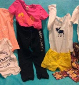 Одежда для девочек  размер s, 8 вещей