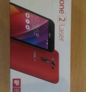 Продам телефон ASUS zenfon2 красного цвета