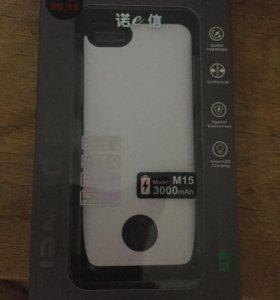 Чехол АКБ на iPhone 5,5c,5s