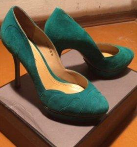 Туфли женские Corso Como, натуральная замша