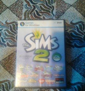 Диск the Sims2. 14 в 1.