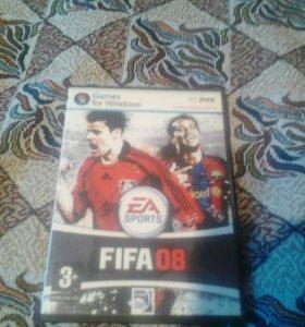 Диск FIFA 08.