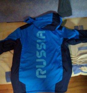 Зимняя курточка на рост 180-185