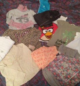 Одежда пакетом для девочки 128-134