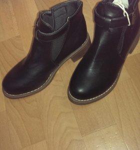 Женские демисезонные ботинки 36 размер