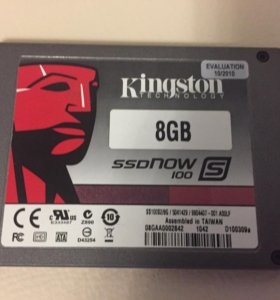 SSD Kingston 8 Gb