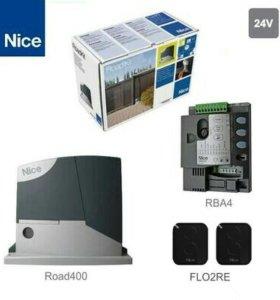 NICE RD400 KCE привод для откатных ворот до 400 кг