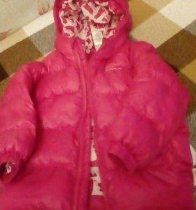 Куртка детская на девочку з-4лет
