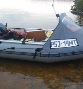 Лодочный мотор Yamaha 15 и лодка ПВХ Фрегат 330pro