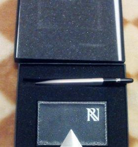 Визитница + ручка новый набор