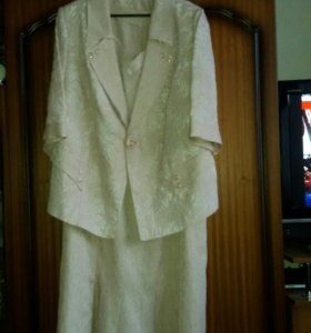 Платье - костюм 60 размер