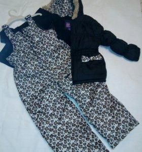 Комплект (комбинезон + куртка) Новый с этикетками