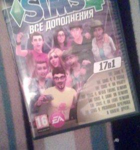 Продам Sims 4 17в 1