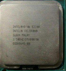 Intel E3300 + охлаждение