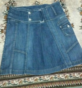 Юбка джинсовая 50 размер
