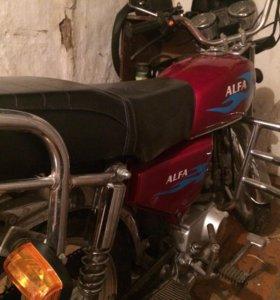 Мотоцикл Alfa