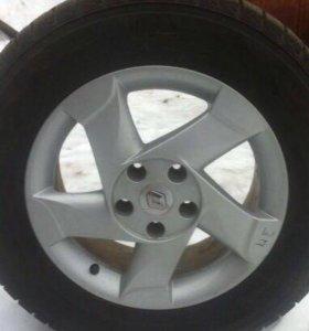 Диски литые на Renault Duster
