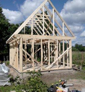 Строительство каркасных домов и бань