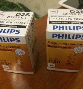 Ксеноновые лампы Philips цоколь D2S