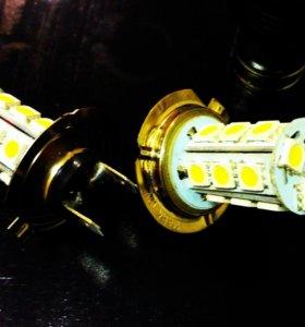 Светодиодные лампочки + прикуриватель