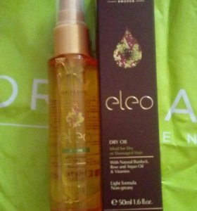 Защитное масло для волос Eleo.