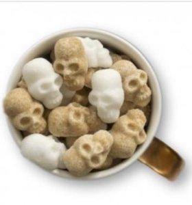 Сахар - череп