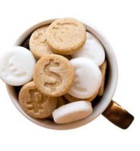 Сахар - монеты