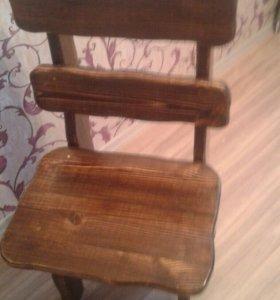 2 стула в бисетку