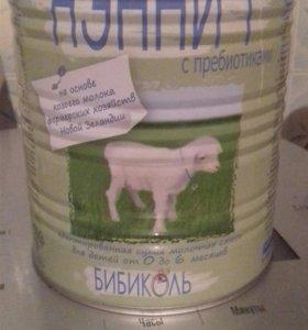 Смесь нээни с пребиотиками на козьем молоке