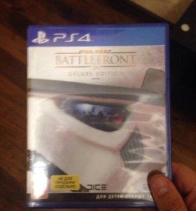 Игра на PS4 Star Wars battlefront