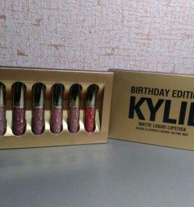 Подарочный набор блесков Kylie матовые