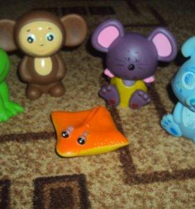 Игрушки детские из резины