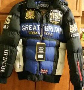 Куртка мужская(новая)зимняя,48-50размер