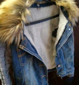 Куртка джинсовая весенняя