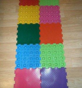 Набор ортопедических ковриков 10штук