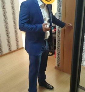 Брендовый мужской костюм Gabbiacci, Италия