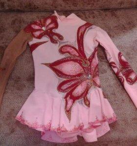 Платье для фигурного катания и гимнастике.