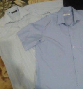 Рубашки на 52-54
