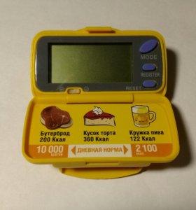 Шагомер-счетчик калорий PD-102 Japan