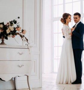 Свадебное платье . Свадьба . Платье