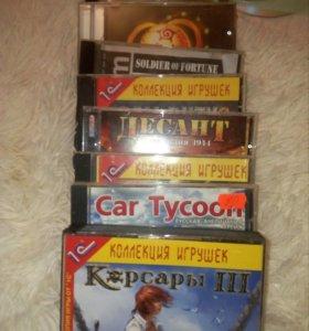 Игровые CD диски для ПК