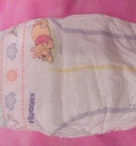 Детские подгузники Huggies Elite Soft.