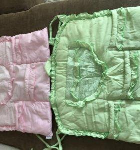 Карманы для детской кроватки (2 шт)