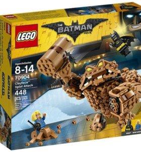 Лего атака глиноликого
