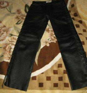 Натуральные кожаные штаны