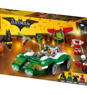 Лего гоночный автомобиль загадочника