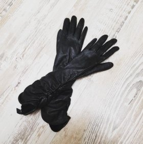 перчатки удлиненные