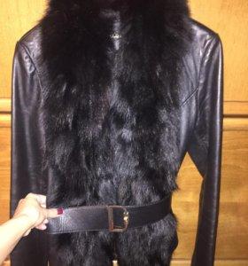 Кожаная куртка LOVERepublic